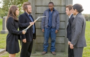Andi (Missy Peregrym) joins the guys on a little soul hunting. Photo courtesy of and copyright of the CW Network