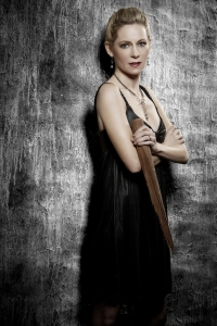 This photo of Carrie Preston is part of a special True Blood-themed photo shoot. Photo copyright of JSquared Photography