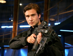 Always at the ready - Captain Becker (Ben Mansfield). Photo copyright of Impossible Pictures