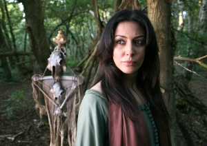 Sarah (Laila Rouass) goes all Medieval! Photo copyright of Impossible Pictures