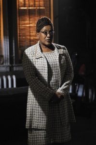 CCH Pounder as Artie's boss Mrs. Frederic in Warehouse 13. Photo by Philippe Bosse and copyright of The Sci Fi Channel