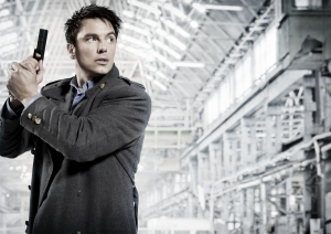 John Barrowman as Captain Jack Harkness in Torchwood: Children Of Earth. Photo courtesy of and copyright of the BBC