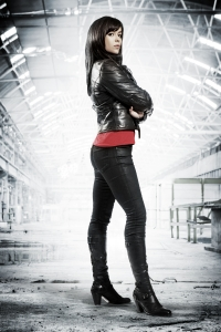 Eve Myles as Gwen Cooper in Torchwood: Children Of Earth. Photo courtesy of and copyright of the BBC
