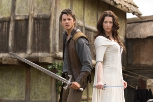 Craig Horner and Bridget Regan star in Legend Of The Seeker. Photo copyright Disney/ABC Domestic Televison