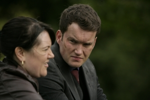 Ianto tries to piece together they mystery of Torchwood: Children Of Earth. Photo courtesy of and copyright of the BBC