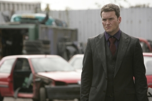 Could Ianto be hiding something from his teammates in Torchwood: Children Of Earth. Photo courtesy of and copyright of the BBC