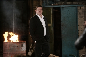Kai Owen as Rhys Williams in Torchwood: Children Of Earth. Photo courtesy of and copyright of the BBC