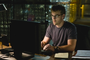 James Van Der Beek as scientist Kirk Hafner in The Storm. Photo by Peter Hopper Stone and copyright of NBC