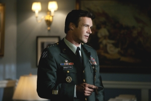 David James Elliott as General Braxton in The Storm. Photo by Peter Hopper Stone and copyright of NBC