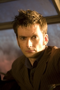 David Tennant as the Doctor in Doctor Who: Planet Of The Dead. Photo courtesy of and copyright of the BBC