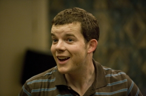 George (Russell Tovey) - Being Human's (were) wolf in the fold. Photo copyright of Touchpaper TV and the BBC