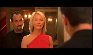 Papajohn and Cameron Diaz in Charlie's Angels. Photo courtesy of Papajohn's official website.