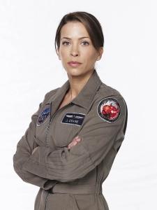 Defying Gravity's Christina Cox as Jen Crane. Photo by Kharem Hill and copyright of Fox Studios/ABC