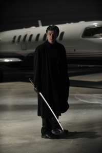 "Welsh-born actor Roger Rees plays James MacPherson in the Warehouse 13 episode ""Implosion."" Photo by Philippe Bosse and copyright of The Syfy Channel"