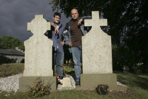 Grant Wilson and Jason Hawes, TV's Ghost Hunters. Photo copyright of The Syfy Channel