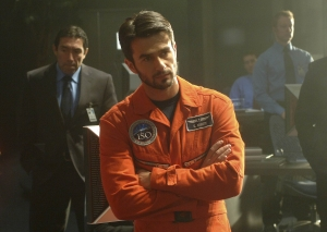 Dr. Evram Mintz during training for the Antares mission. Photo by Sergei Bachlakov and copyright of Fox Studios and ABC