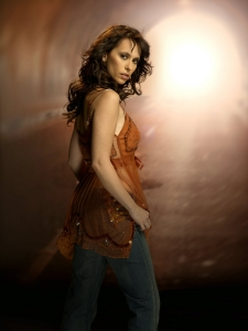 Jennifer Love Hewitt as TV's Ghost Whisperer joins the Syfy family this month. Photo copyright of The Syfy Channel