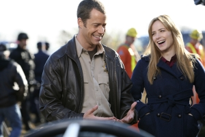 "Jack and Tess in the Eureka episode ""Ship Happens."" Photo by Marcel Williams and copyright of The Syfy Channel"