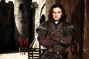 The not-so-nice Sir Guy of Gisborne (Richard Armitage). Photo copyright of Tiger Aspect Productions
