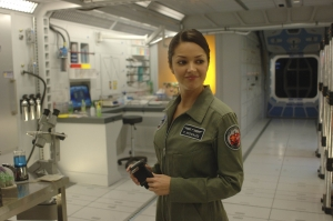 All smiles inside the Antares' lab. Photo by Sergei Bachlakov and copyright of Fox Studios and ABC