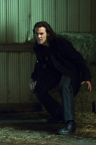 Ready for a fight - Henry Fitzroy (Kyle Schmid) in Blood Ties. Photo copyright of Lifetime TV
