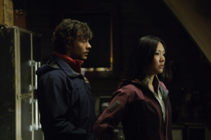 Federico and Ling Chen (Steph Song) in The Thaw. Photo by Diyah Pera and copyright of Anagram Pictures