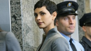 Morena Baccarin stars as Anna in the updated version of V. Photo copyright of ABC TV