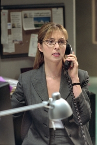 On the job with Ellen Dubin as Jeri Slate in The Collector. Photo copyright of Wanstrom and Assoc.
