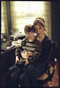 A family portrait - Jeri and her son Gabriel (Aiden Drummond). Photo copyright of Wanstrom and Assoc.