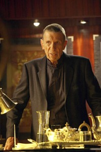Leonard Nimoy as Fringe's William Bell. Photo copyright of Fox Television