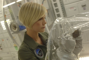 At work in the Antares' lab. Photo by Sergei Bachlakov and copyright of ABC/Fox TV Studios