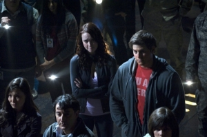"""Will Chloe (Elyse Levesque) and/or Eli be among the lottery winners in """"Light."""" Photo by Carole Segal and copyright of The Syfy Channel"""