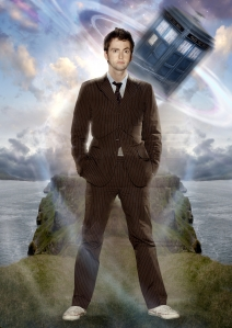 David Tennant as Doctor Who. Photo copyright of the BBC