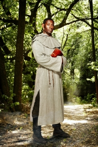 David Harewood as the re-imagined Friar Tuck in BBC's Robin Hood. Photo copyright of Tiger Aspect