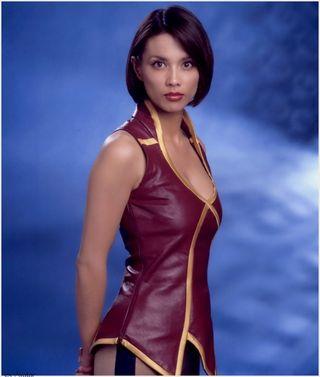 Sci Fi Blast From The Past Lexa Doig Gene Roddenberrys Andromeda